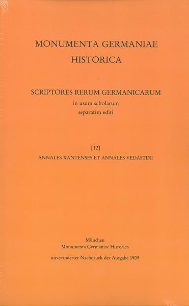 Annales Xantenses et Annales Vedastini - Coverbild