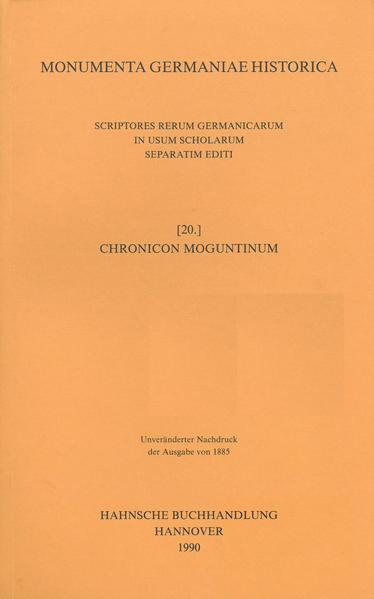Chronicon Moguntinum - Coverbild