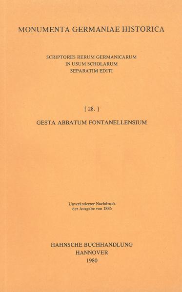 Gesta abbatum Fontanellensium - Coverbild