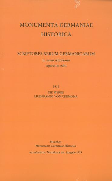 Die Werke Liudprands von Cremona - Coverbild