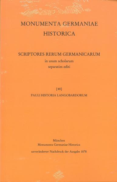 Pauli Historia Langobardorum - Coverbild