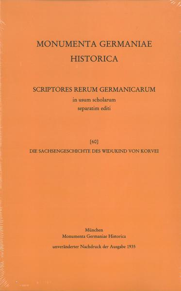Die Sachsengeschichte des Widukind von Korvei - Coverbild