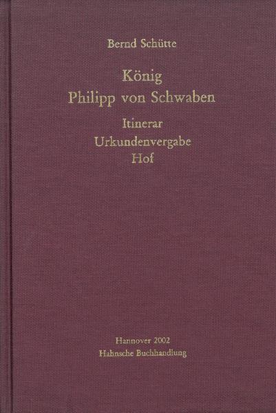 König Philipp von Schwaben - Coverbild