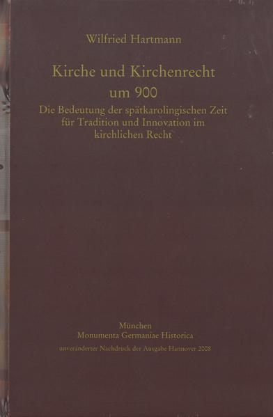 Kirche und Kirchenrecht um 900 - Coverbild