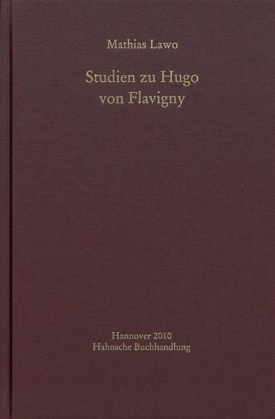 Studien zu Hugo von Flavigny - Coverbild