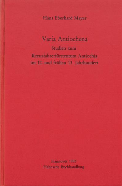 Varia Antiochena - Coverbild