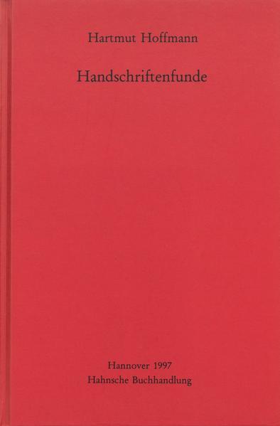 Handschriftenfunde - Coverbild