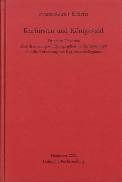 Kurfürsten und Königswahl - Coverbild