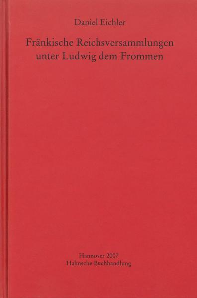 Fränkische Reichsversammlungen unter Ludwig dem Frommen - Coverbild