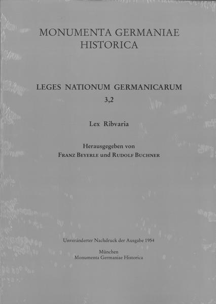 Lex Ribvaria - Coverbild