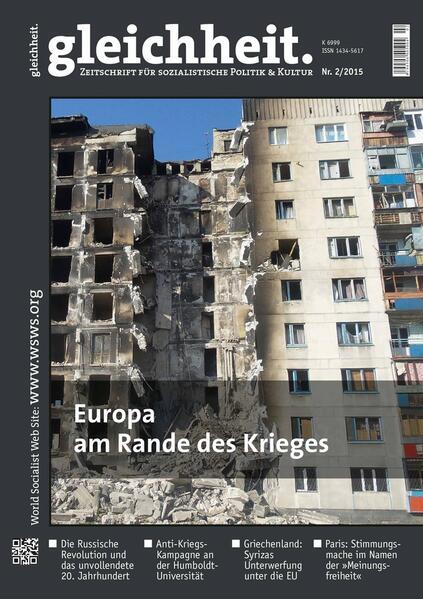 Europa am Rande des Krieges - Coverbild