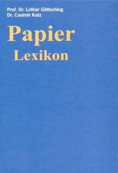 Papier-Lexikon - Coverbild