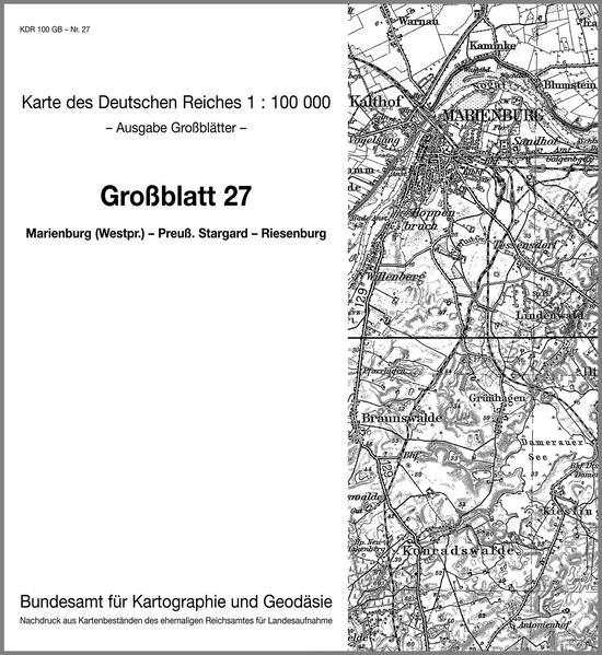 Marienburg (Westpreussen) - Preuss. Stargard - Riesenburg - Coverbild