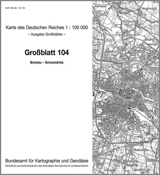 Breslau - Schweidnitz - Coverbild