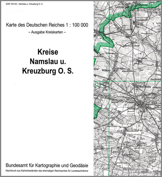 Namslau und Kreuzberg O. S. - Coverbild
