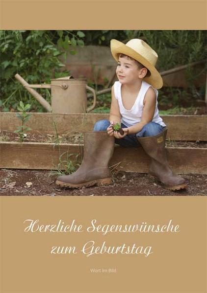 Herzliche Segenswünsche zum Geburtstag - Coverbild