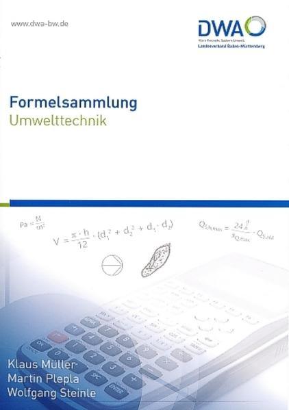 Formelsammlung Umwelttechnik - Coverbild