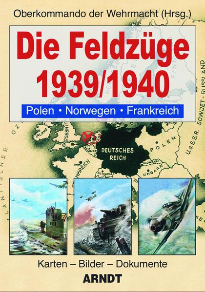 Die Feldzüge 1939/1940 - Coverbild