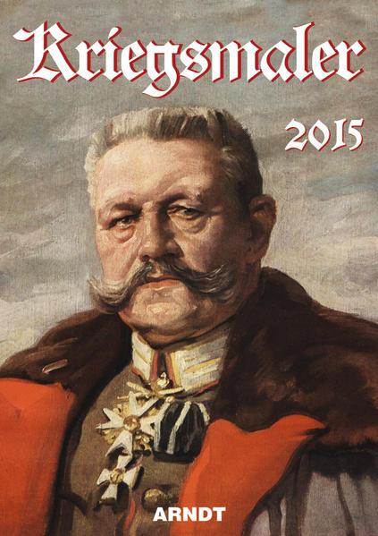 Kriegsmaler 2015 - Coverbild
