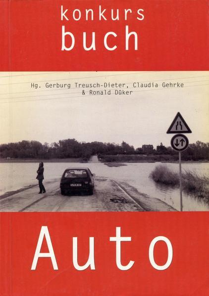 Konkursbuch. Zeitschrift für Vernunftkritik / Auto - Coverbild