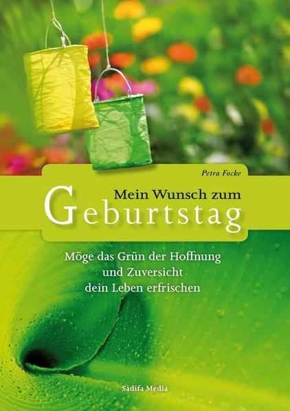 Möge das Grün der Hoffnung und Zuversicht dein Leben erfrischen - Nr. 611 - Coverbild