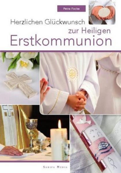 Herzlichen Glückwunsch zur Heiligen Erstkommunion - Nr. 649 - Coverbild