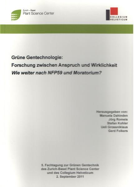 Grüne Gentechnologie - Coverbild