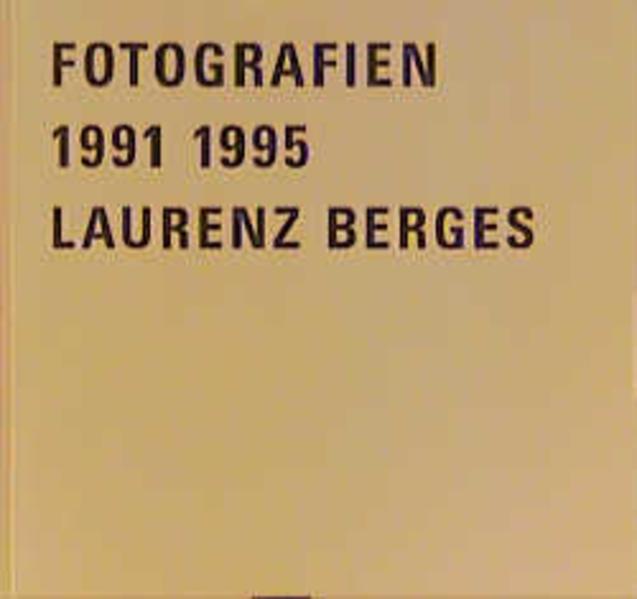Fotografien 1991-1995 - Coverbild