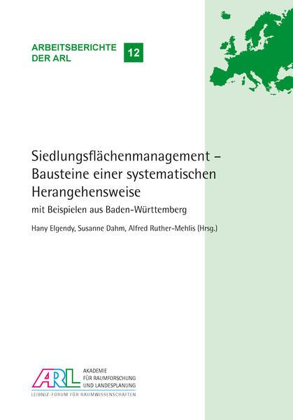 Siedlungsflächenmanagement – Bausteine einer systematischen Herangehensweise - Coverbild