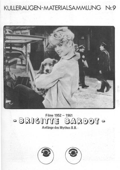 Brigitte Bardot - Filme 1953-1961 - Coverbild