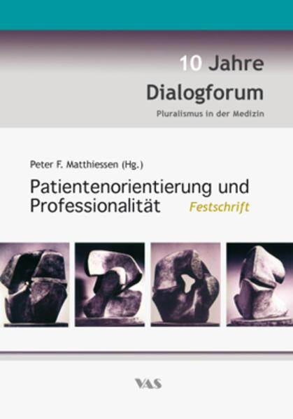 Patientenorientierung und Professionalität - Coverbild