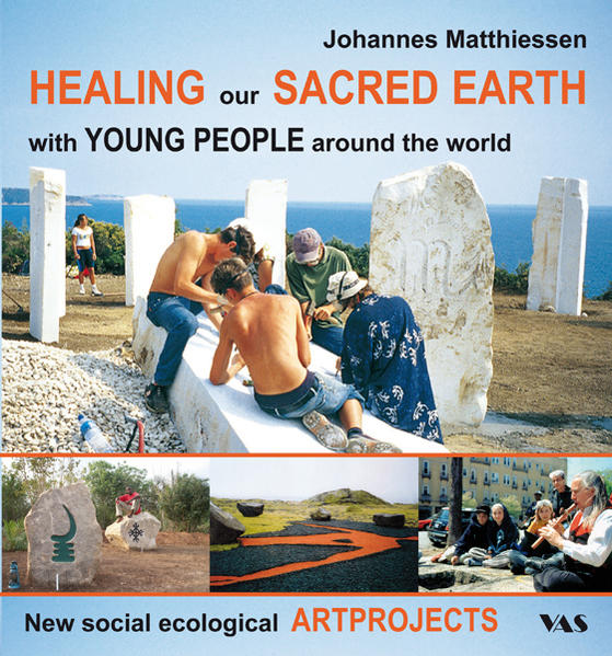HEALING our SACRED EARTH - with YOUNG PEOPLE around the world - Coverbild