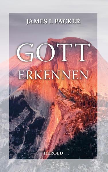 Gott erkennen - Coverbild