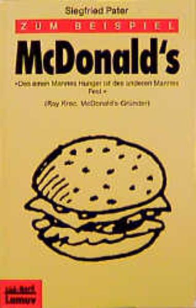 Zum Beispiel McDonald's - Coverbild
