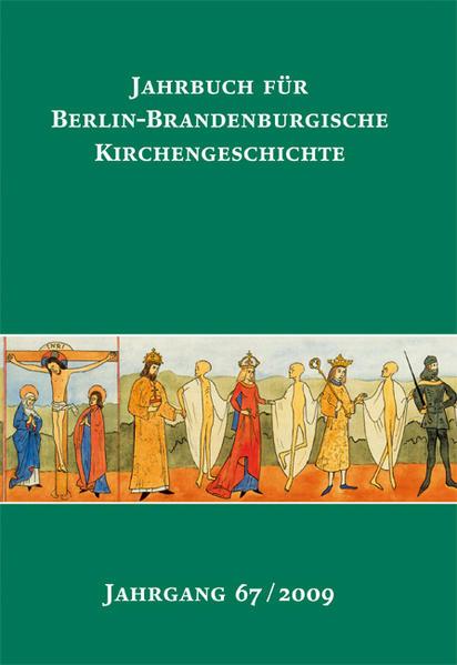 Jahrbuch für Berlin-Brandenburgische Kirchengeschichte - Coverbild