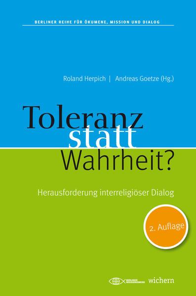 Toleranz statt Wahrheit? - Coverbild
