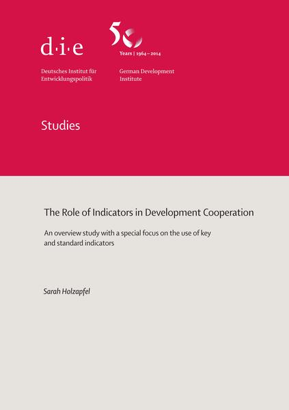 The role of indicators in development cooperation - Coverbild