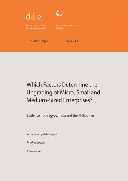 Which factors determine the upgrading of micro, small and medium-sized enterprises? - Coverbild