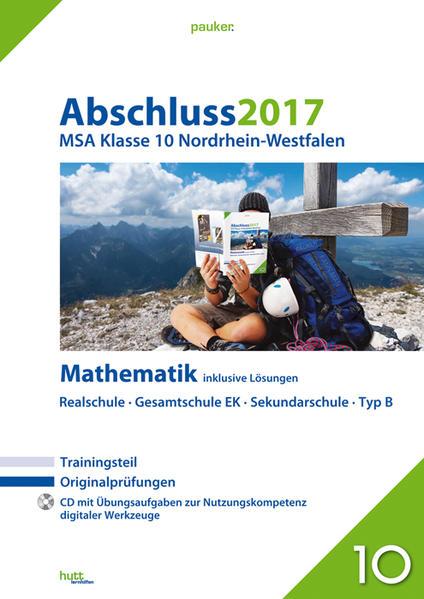 Abschluss 2017 - Mittlerer Schulabschluss Nordrhein-Westfalen Mathematik - Coverbild