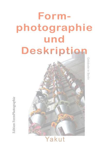 Formphotographie und Deskription - Coverbild