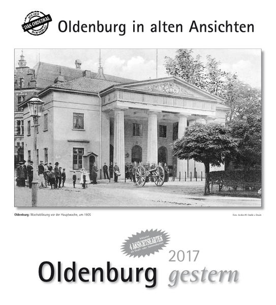 Oldenburg gestern 2017 - Coverbild