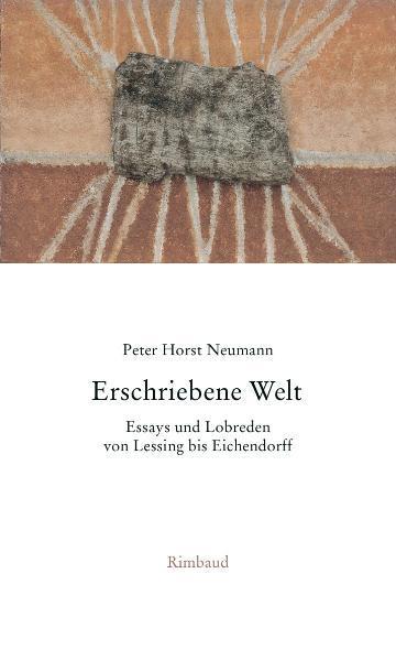 Gesammelte Essays und Lobreden / Erschriebene Welt - Coverbild