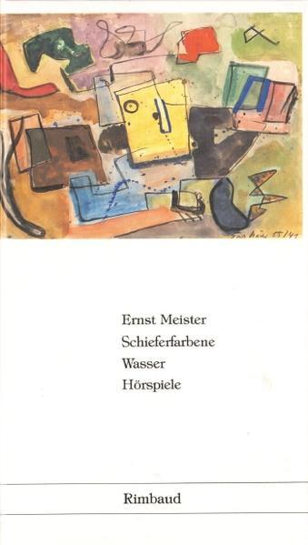 Sämtliche Hörspiele / Schieferfarbene Wasser - Coverbild