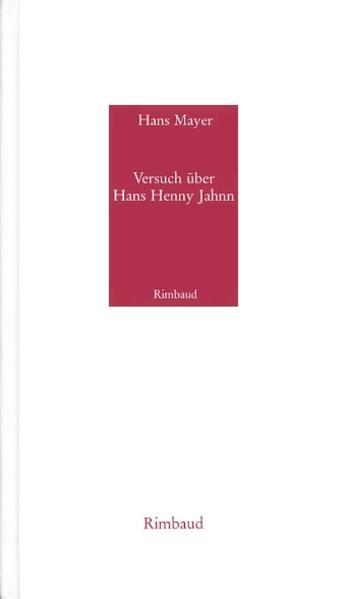 Versuch über Hans Henny Jahnn - Kostenlose Bücher zum Download auf iPhone
