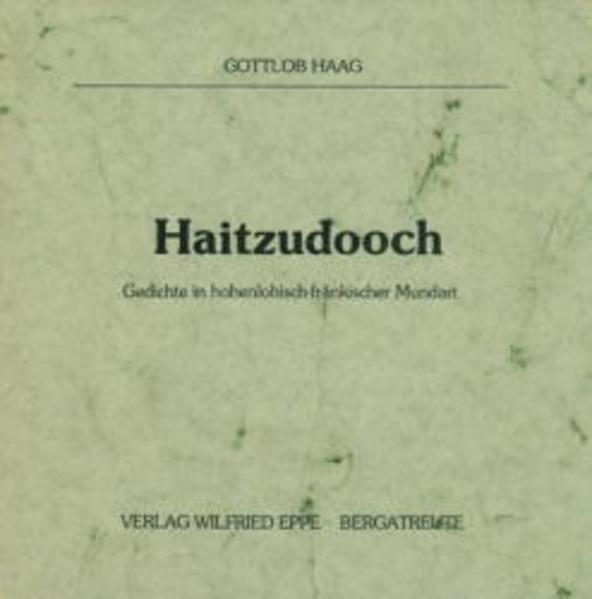 Haitzudooch - Coverbild