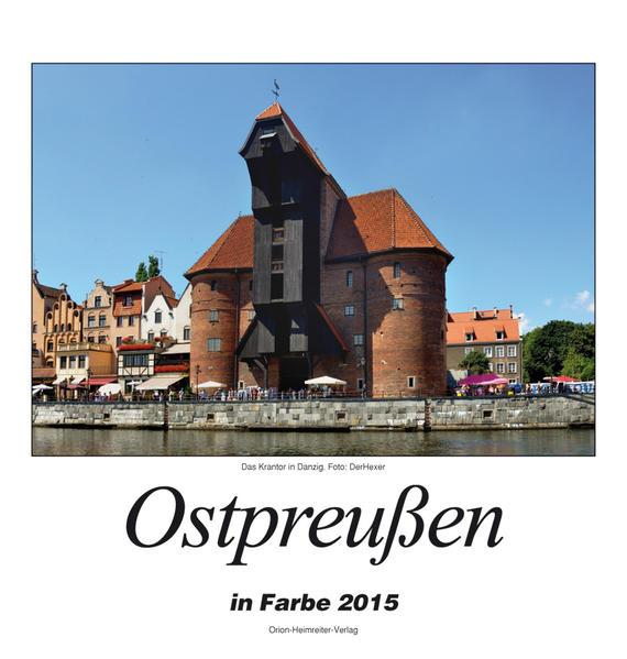 Ostpreußen 2015 - Coverbild
