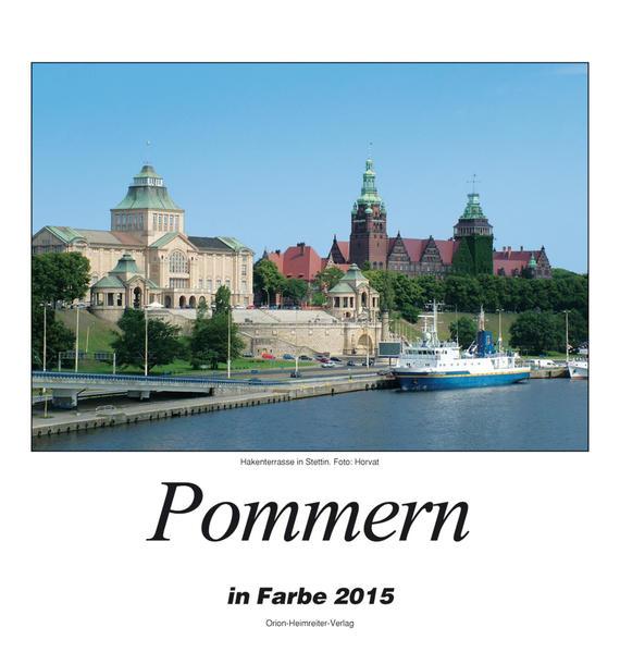 Pommern 2015 - Coverbild