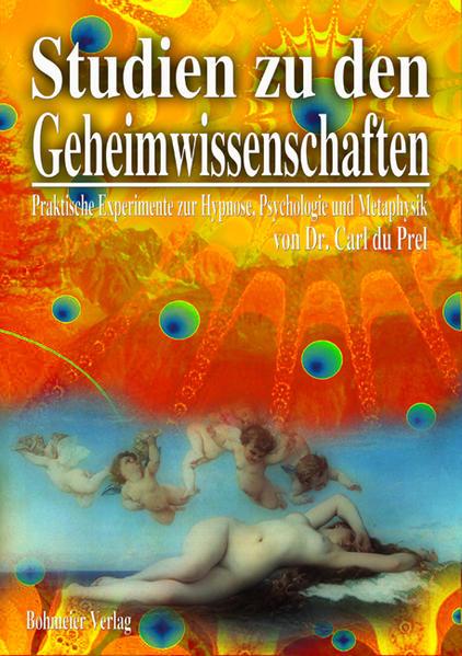 Studien zu den Geheimwissenschaften - Coverbild