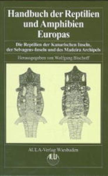 Handbuch der Reptilien und Amphibien Europas - Coverbild