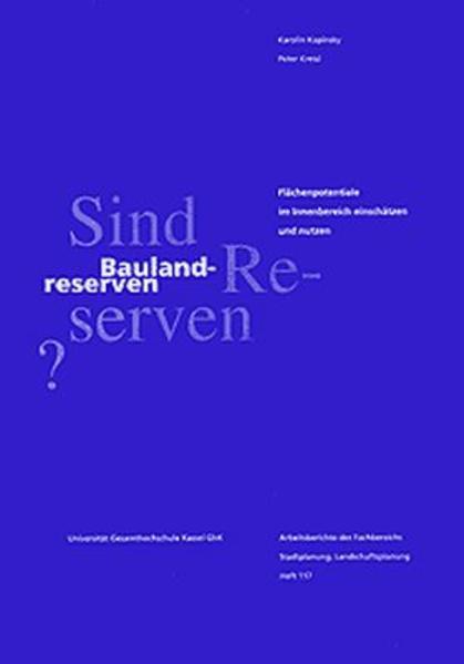 Sind Baulandreserven Reserven? - Coverbild